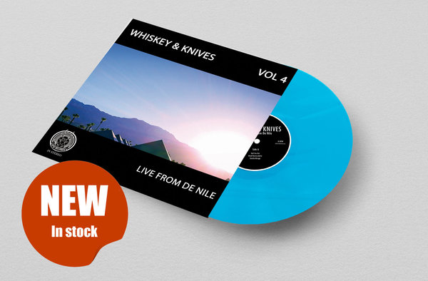 "Whiskey and Knives ""Vol. 4 - Live From De Nile"" 12""-vinyl on turquoise (ltd. 110)"
