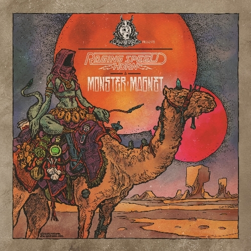 "MONSTER MAGNET/RAGING SPEEDHORN -DesertFest Vol. II- 7"" (Clear orange vinyl lim. 200)"